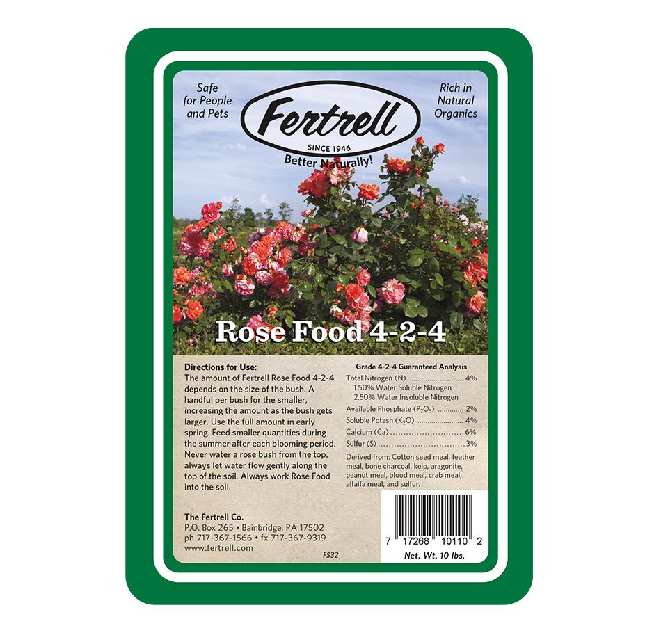 Rose Food 4-2-4, 10 LBs