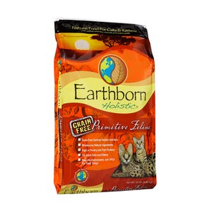 Earthborn Primitive Feline Cat Food, 14lb