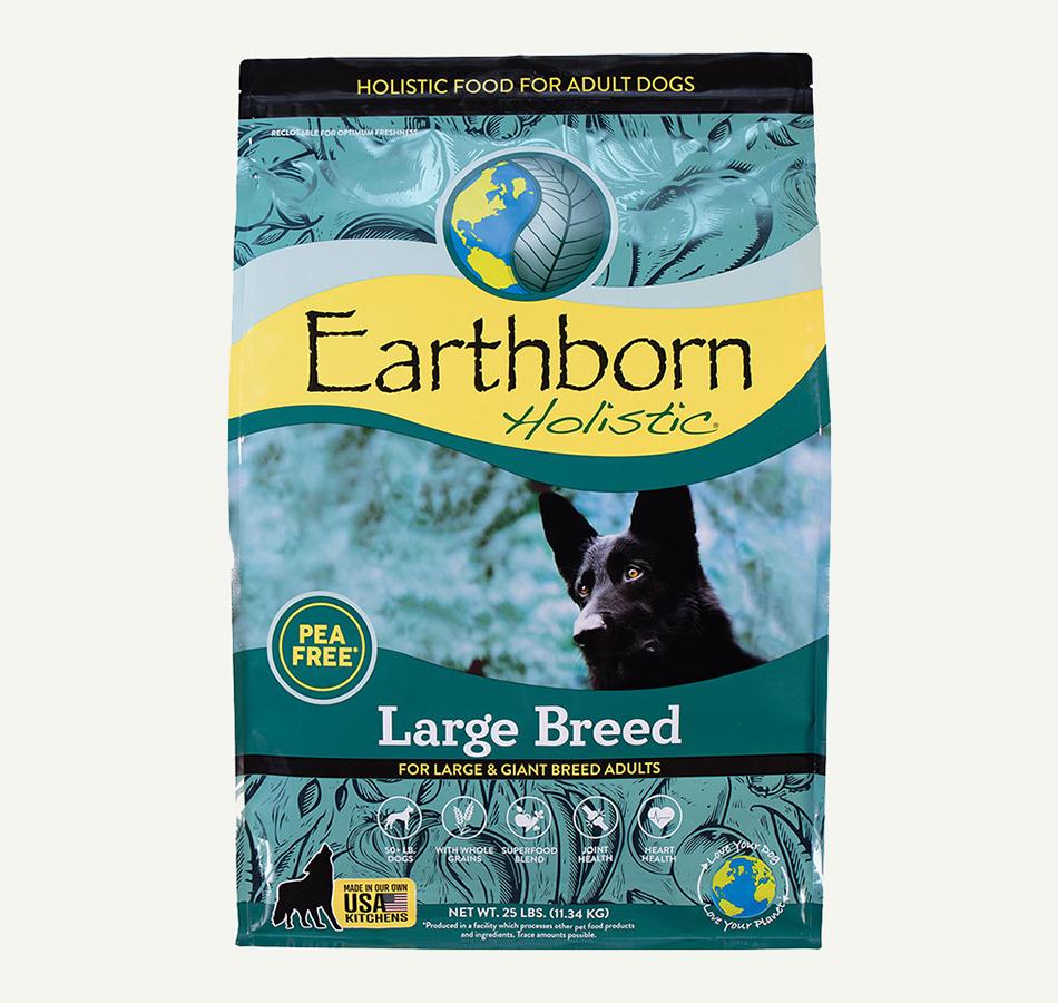 Earthborn Large Breed Dog Food, 25lb