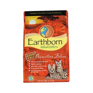 Earthborn Primitive Feline Cat Food, 5lb.