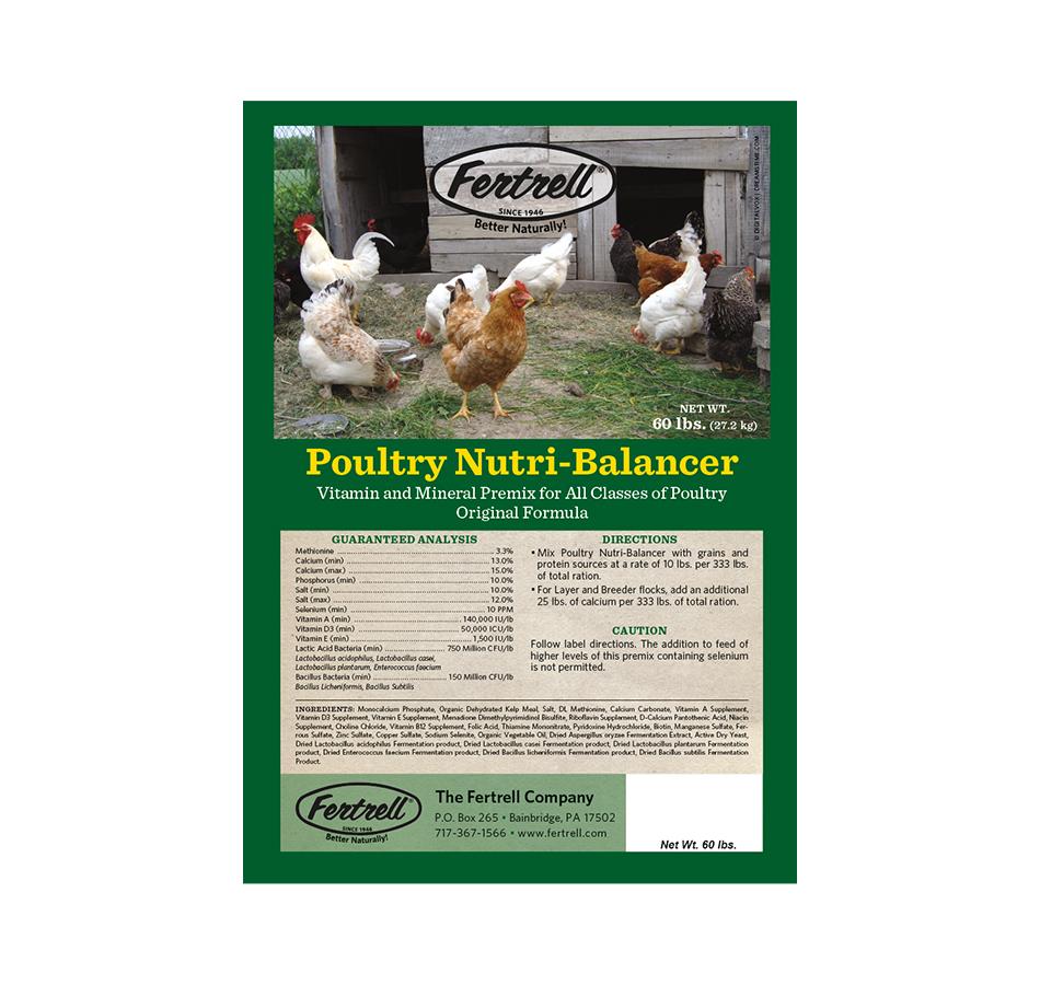 Poultry Nutri-Balancer, 60 LBs