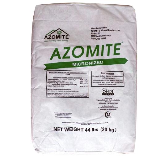 Azomite Micronized, 44 LBs