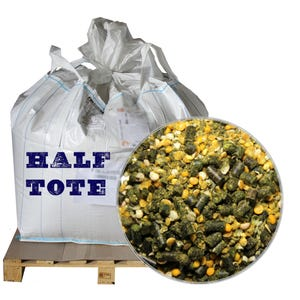 low starch horse feed half tote