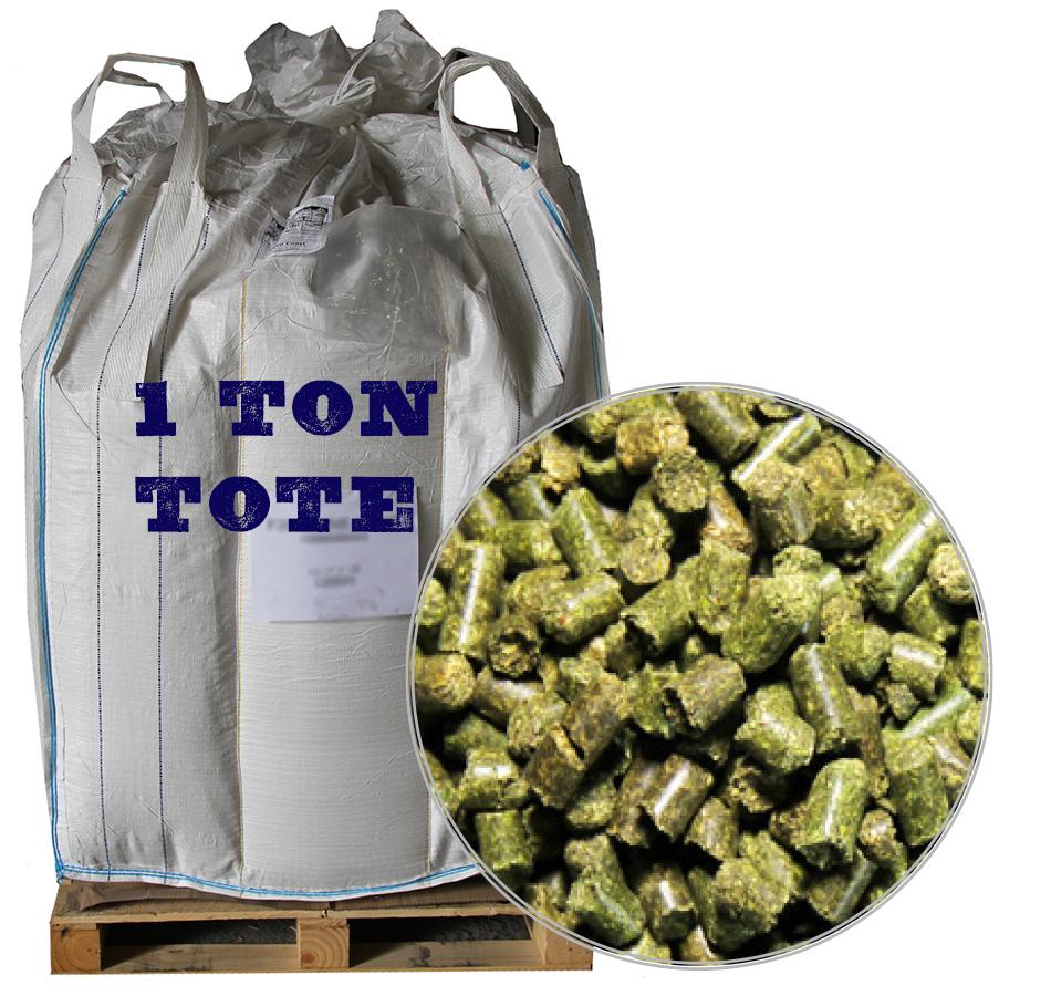 Alfalfa Pellets, 2,000 LB Tote