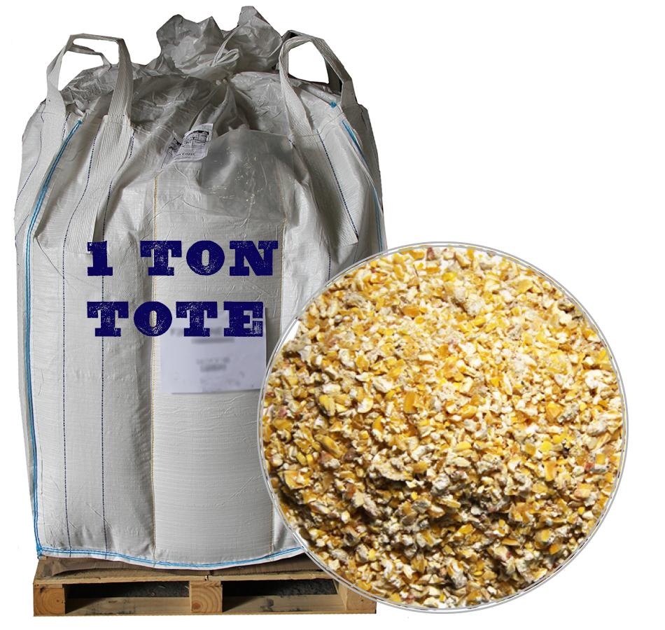 Corn, Cracked, 2,000 LB Tote