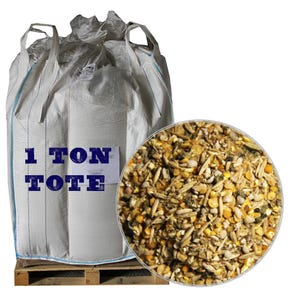 Duck Grower Feed, 2,000 LB Tote