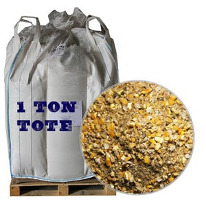 Duck Layer Feed, 2,000 LB Tote