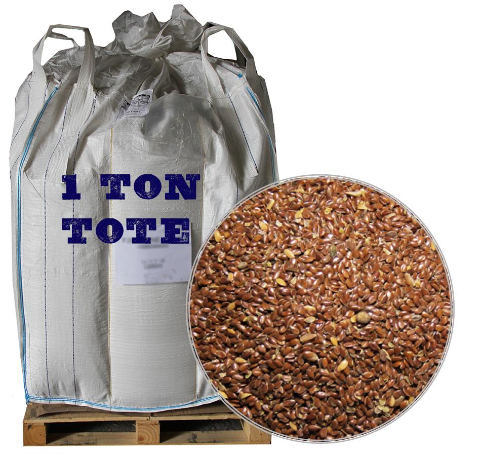 Flaxseed, 2,000 LB Tote
