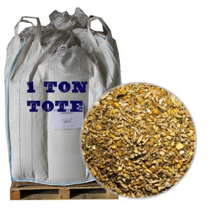 Corn-Free Grower/Broiler Feed, 2,000 LB Tote