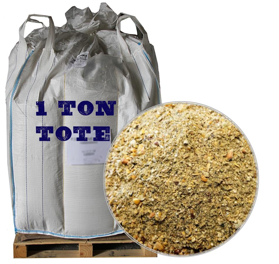 Corn-Free Starter Feed, 2,000 LB Tote