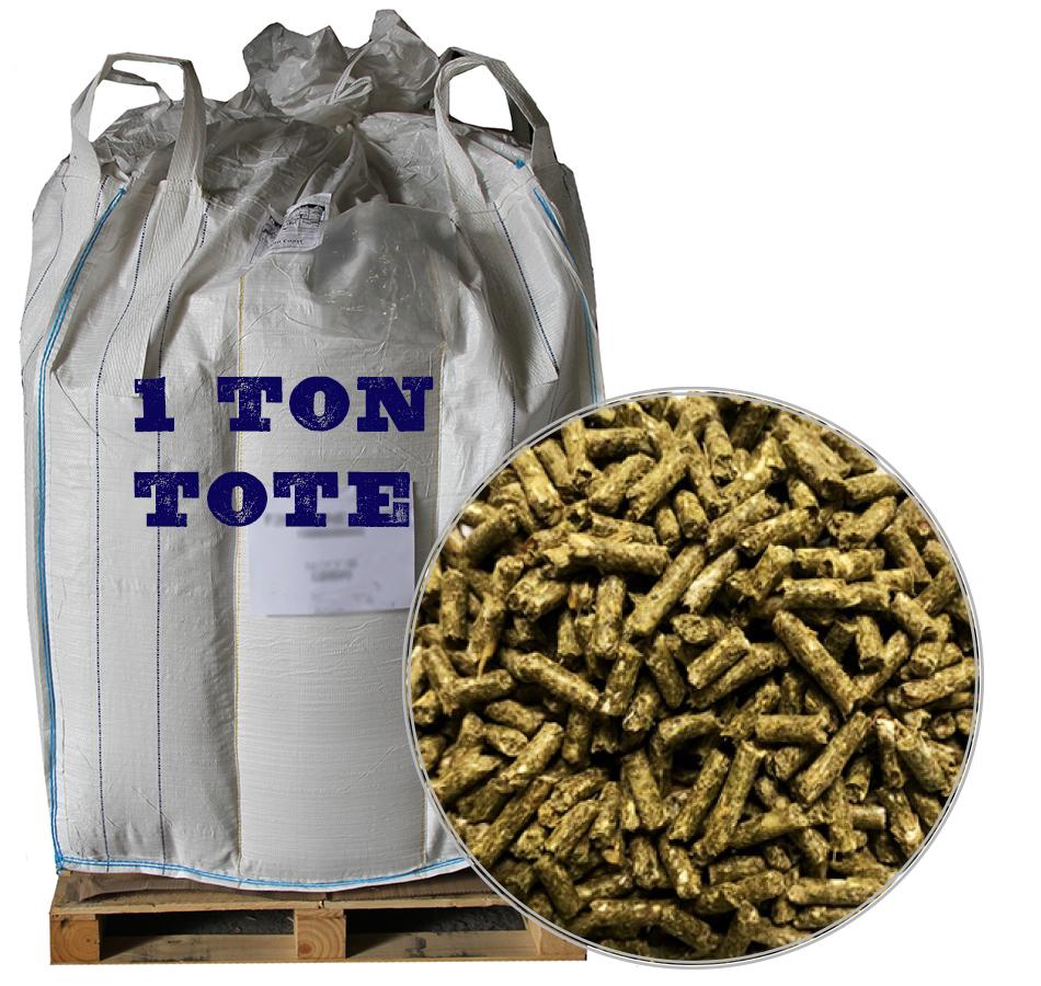 Rabbit Pellets, 2,000 LB Tote