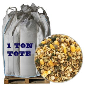 Unmilled Classic Layer Feed, 2000 LB Tote