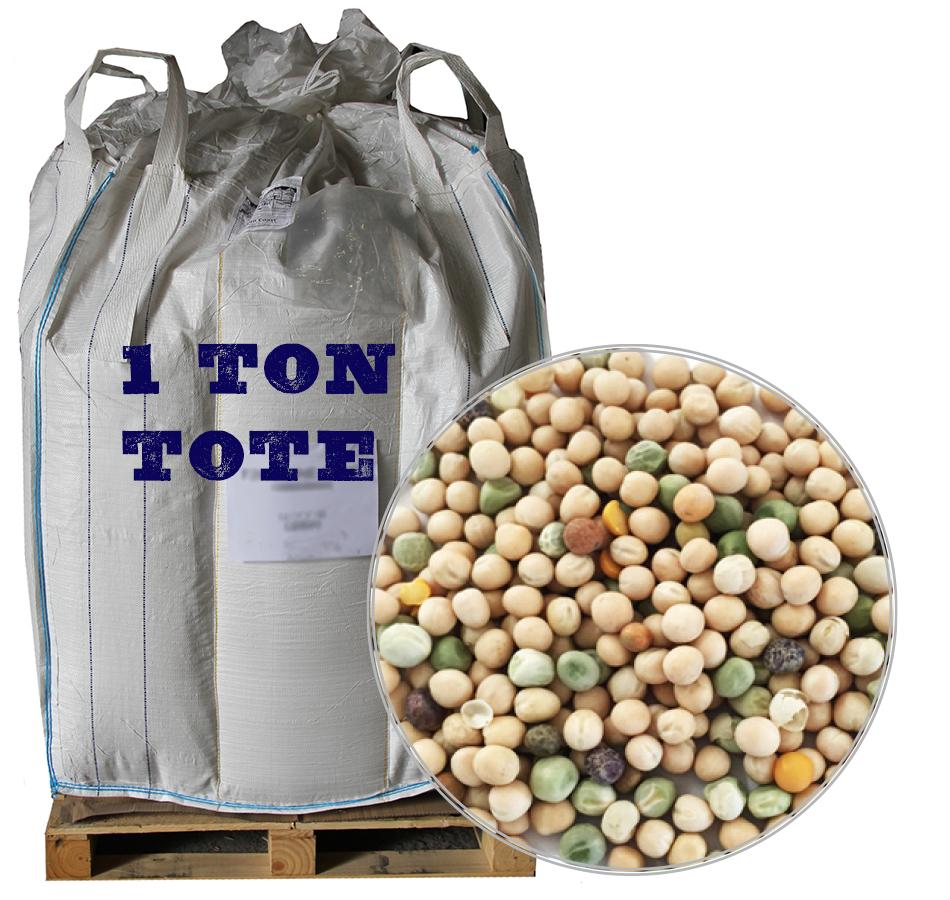 Peas, Unmilled, 2,000 LB Tote
