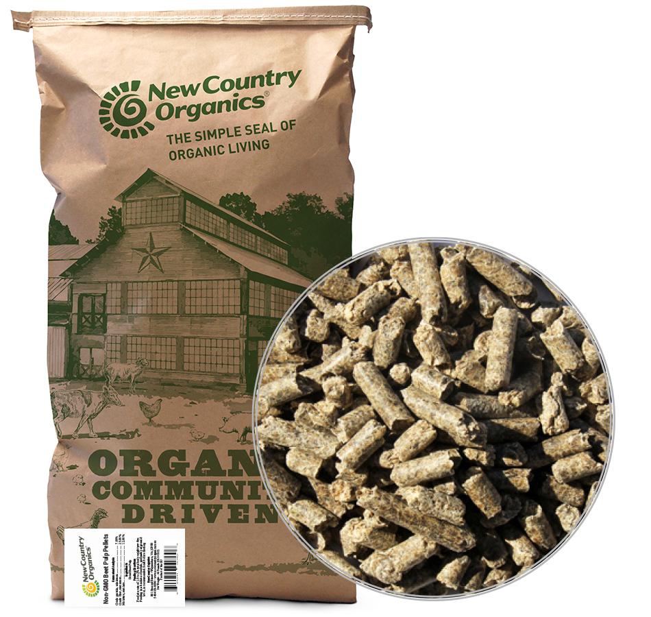Non-GMO Beet Pulp Pellets, 50 LBs