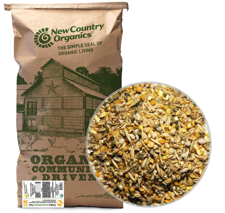 Grower/Broiler Feed, 50 LBs