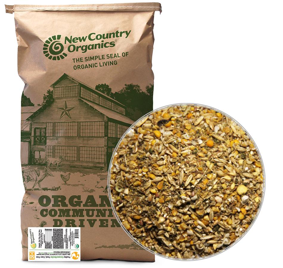 Corn-Free Grower/Broiler Feed, 50 LBs