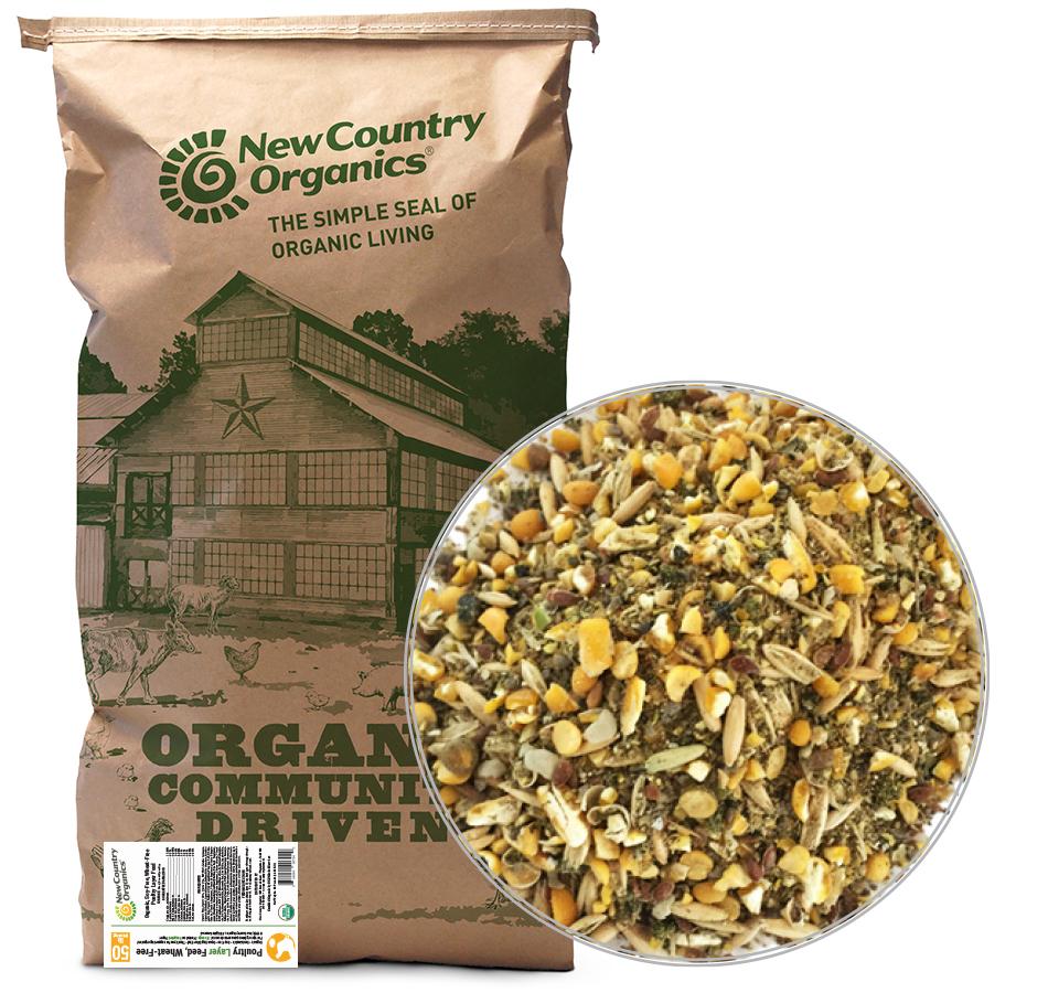 Wheat-Free Layer Feed, 50 LBs