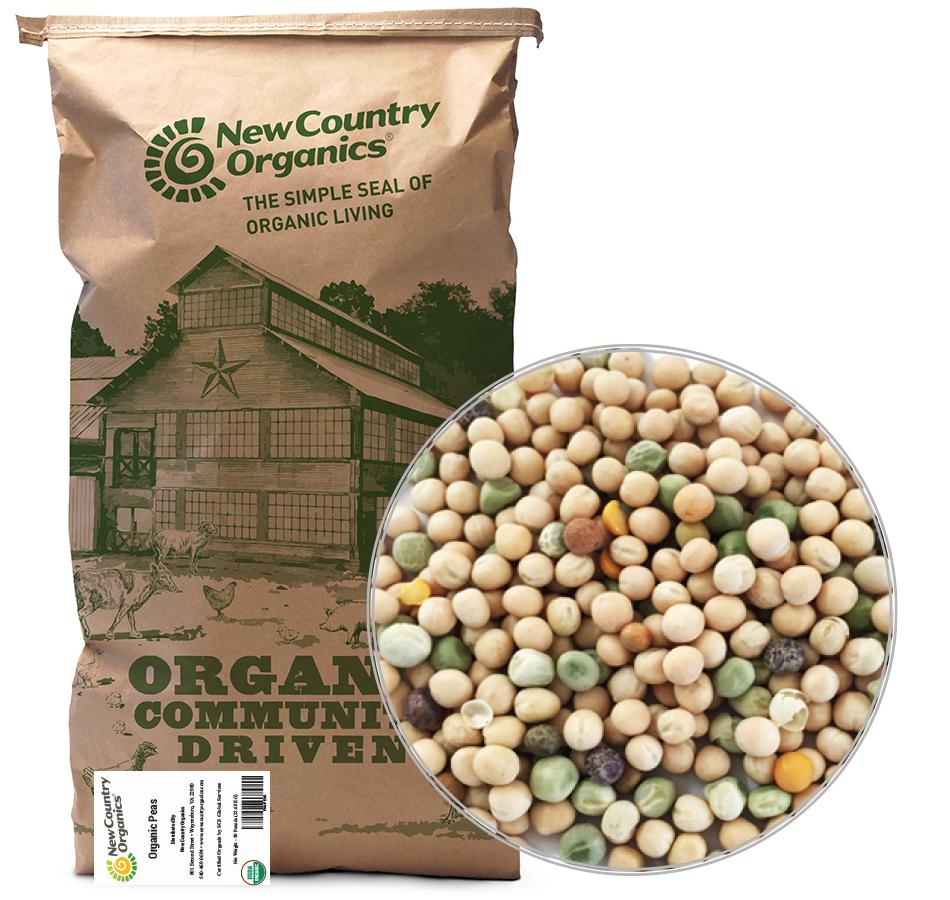 Peas, Unmilled, 50 LBs