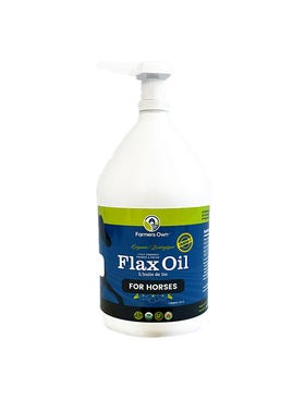 Farmers Own Flaxseed Oil for Horses, 1 GAL