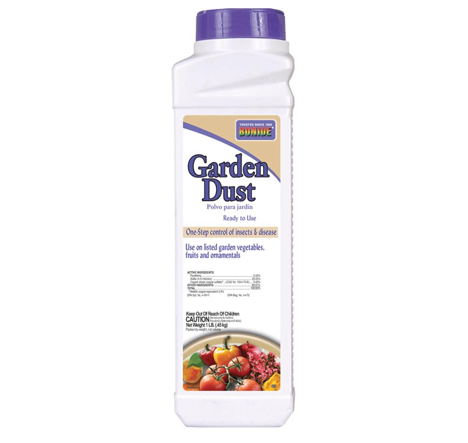 Bonide Garden Dust, Ready to Use, 1 LB