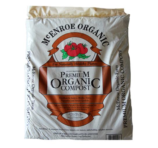 McEnroe Organic Compost, 40 LBs
