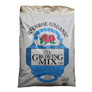McEnroe Organic Lite Growing Mix Potting Soil, 35 LBs