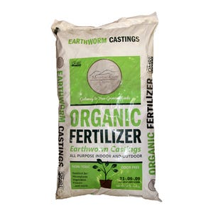 Mountain Gate Organics Earthworm Castings, 25 LBs