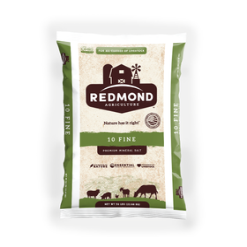 Redmond Natural Trace Mineral Salt, 50 LBs