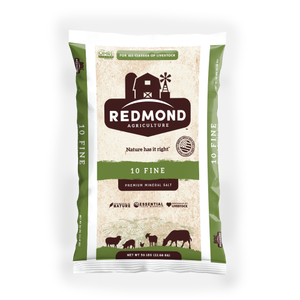 Redmond Natural Trace Mineral Salt, 50 LBs