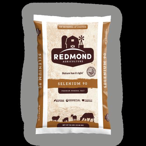 Redmond Salt Selenium 90 ppm, 50 LBs