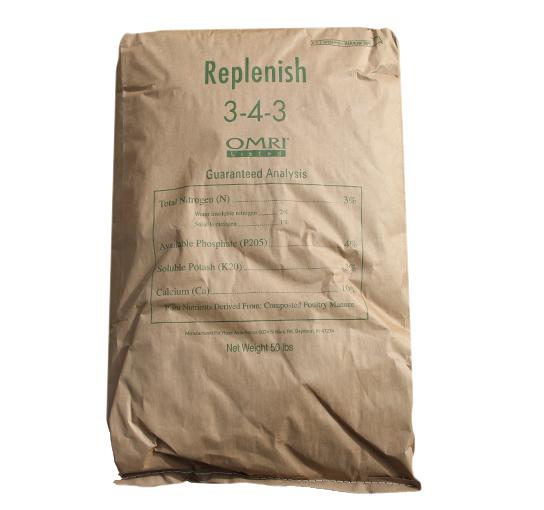 Replenish 3-4-3, 50 LBs