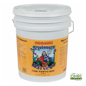 Neptunes Harvest Fish Fertilizer 2-4-1, 5 Gal