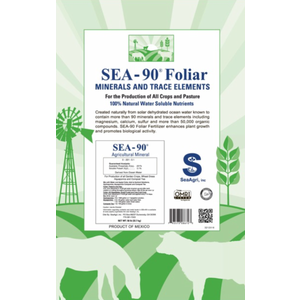 Sea-90 Sea Mineral Foliar & Hydroponic Fertilizer, 50 LBs