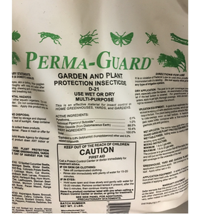 Perma-Guard D-21 Garden & Plant Protection Insecticide, 2 Lbs