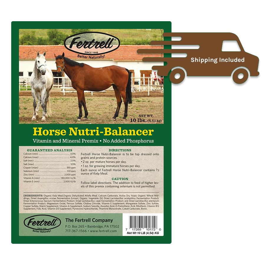 Fertrell Horse Nutri-Balancer, 10 LBs