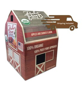 Pocket Pony Apples & Carrots Organic Horse Treats, 44oz