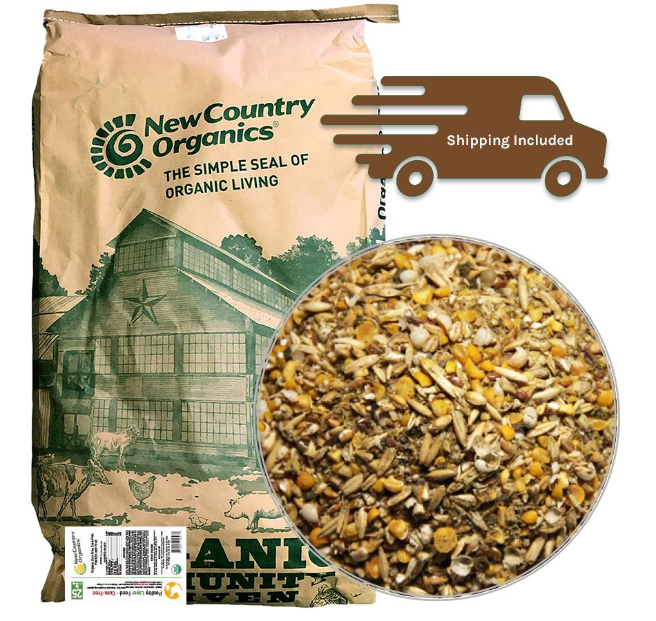 Corn-Free Layer Feed, 25 LBs