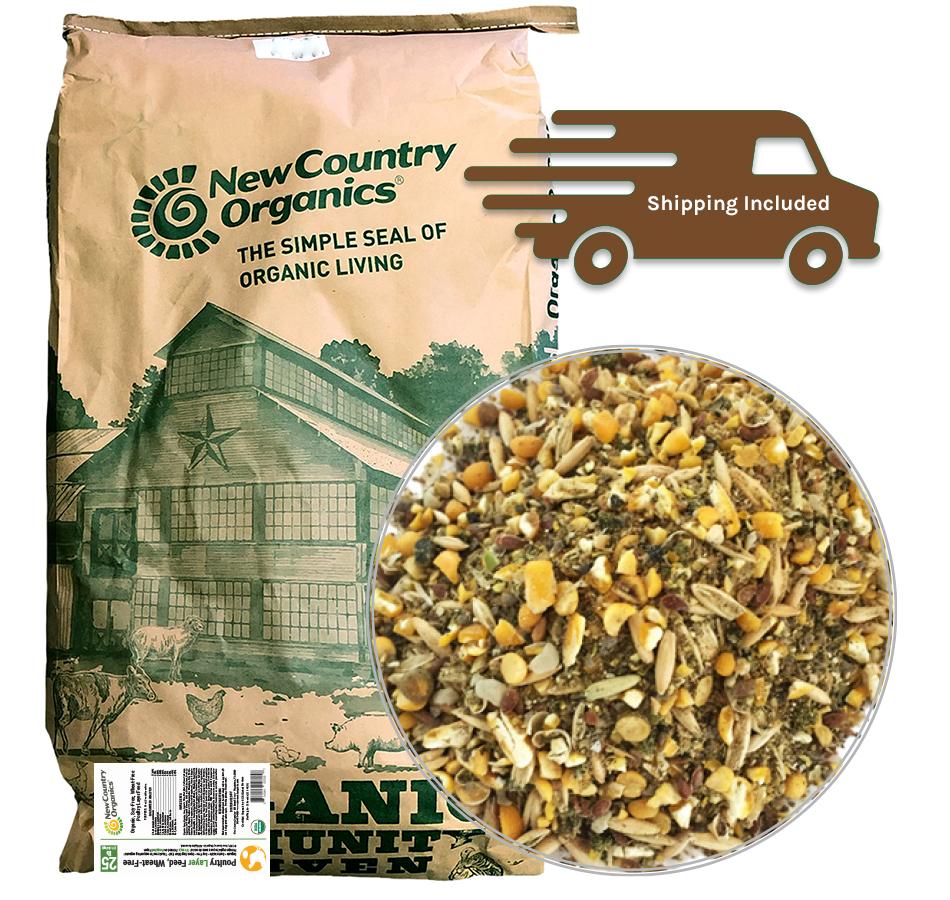 Wheat-Free Layer Feed, 25 LBs